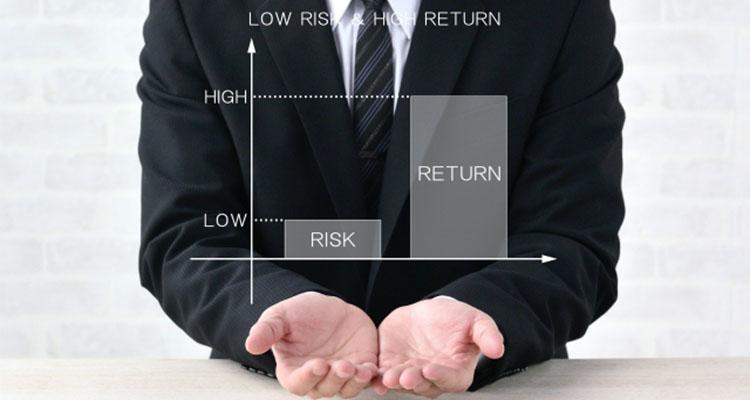 リスクが低い取引を主体にする場合