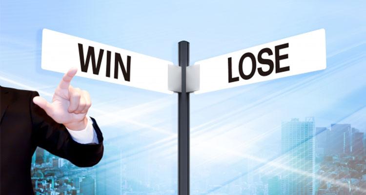 勝っても負けても取引額になる