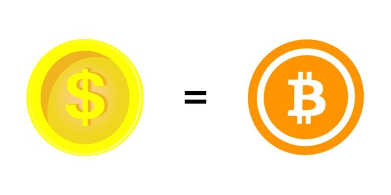 ビットコインを米ドルと並行して使用できる法制