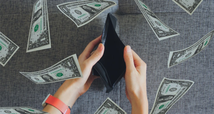 バイナリーオプションによる借金や破産
