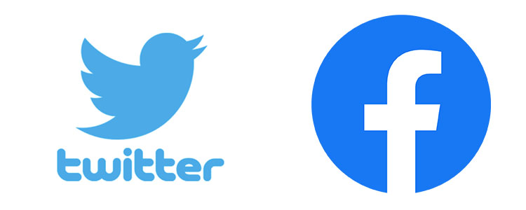 twitter facebook 公式ロゴ