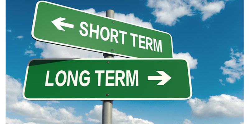短期投資も長期投資もできる
