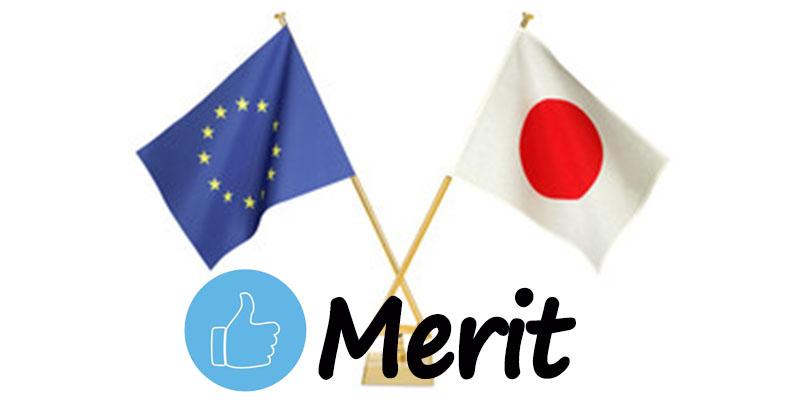 EUR/JPYメリット